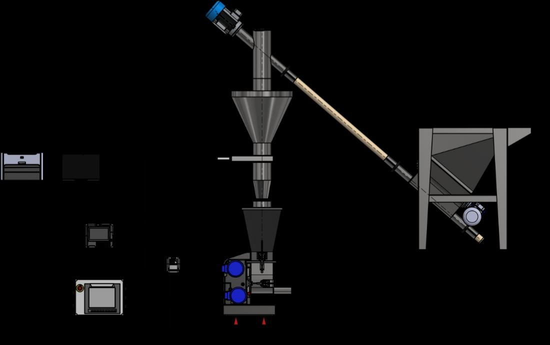 Gravimetric Control Schematic
